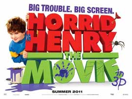 Horrid Henry: The Movie - 11 x 17 Movie Poster - UK Style B