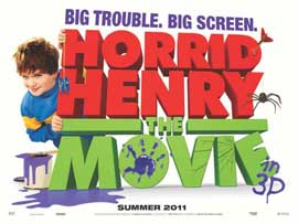 Horrid Henry: The Movie - 27 x 40 Movie Poster - UK Style B
