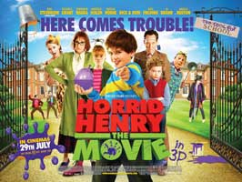 Horrid Henry: The Movie - 11 x 17 Movie Poster - UK Style C
