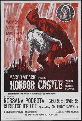 Horror Castle - 27 x 40 Movie Poster - Style A