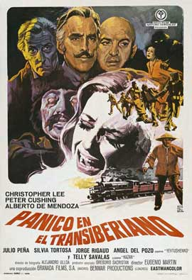 Horror Express - 11 x 17 Movie Poster - Spanish Style A