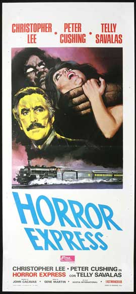 Horror Express - 14 x 36 Movie Poster - Insert Style A