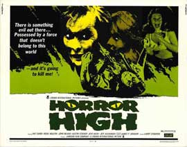 Horror High - 11 x 14 Movie Poster - Style A