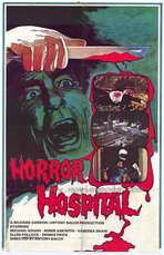 Horror Hospital - 27 x 40 Movie Poster - Style A