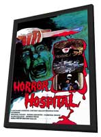 Horror Hospital - 11 x 17 Movie Poster - Style A - in Deluxe Wood Frame