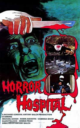 Horror Hospital - 11 x 17 Movie Poster - Style A