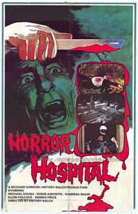 Horror Hospital - 43 x 62 Movie Poster - Bus Shelter Style A