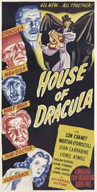 Horror of Dracula - 13 x 30 Movie Poster - Australian Style A