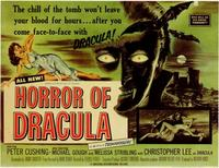 Horror of Dracula - 11 x 14 Movie Poster - Style C