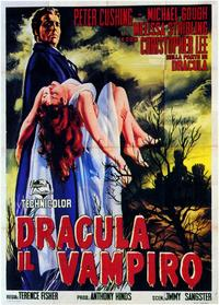 Horror of Dracula - 11 x 17 Poster - Foreign - Style E