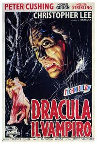 Horror of Dracula - 27 x 40 Movie Poster - Italian Style A