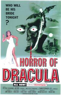 Horror of Dracula - 43 x 62 Movie Poster - Bus Shelter Style A