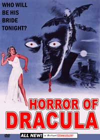 Horror of Dracula - 11 x 17 Movie Poster - Style D