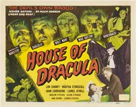 Horror of Dracula - 22 x 28 Movie Poster - Half Sheet Style A