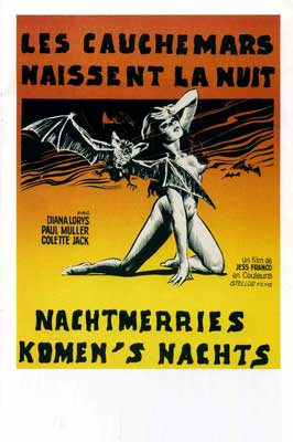 Horror of Dracula - 11 x 17 Movie Poster - Belgian Style A