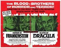 Horror of Frankenstein/Scars of Dracula - 22 x 28 Movie Poster - Half Sheet Style A