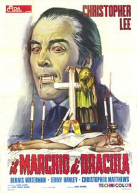 Horror of Frankenstein/Scars of Dracula - 39 x 55 Movie Poster - Italian Style A