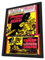 Horror of Party Beach - 27 x 40 Movie Poster - Style A - in Deluxe Wood Frame