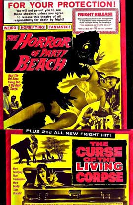 Horror of Party Beach - 11 x 17 Movie Poster - Style A