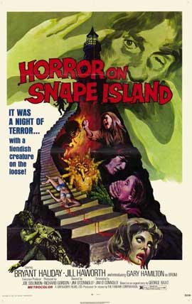 Horror on Snape Island - 11 x 17 Movie Poster - Style A