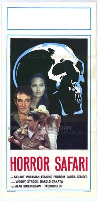 Horror Safari - 11 x 17 Movie Poster - Italian Style A