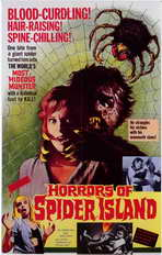 Horrors of Spider Island - 11 x 17 Movie Poster - Style A