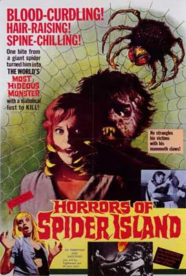 Horrors of Spider Island - 27 x 40 Movie Poster - Style A