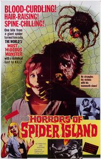 Horrors of Spider Island - 43 x 62 Movie Poster - Bus Shelter Style A