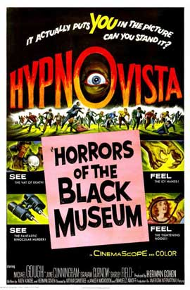 Horrors of the Black Museum - 11 x 17 Movie Poster - Style A
