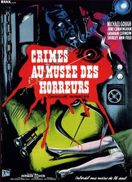 Horrors of the Black Museum - 11 x 17 Movie Poster - French Style A