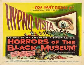 Horrors of the Black Museum - 22 x 28 Movie Poster - Half Sheet Style B
