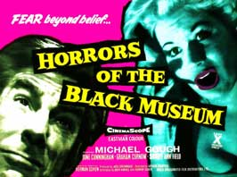 Horrors of the Black Museum - 22 x 28 Movie Poster - Half Sheet Style A