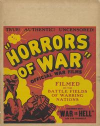 Horrors of War - 11 x 14 Movie Poster - Style A