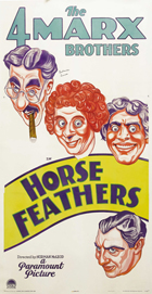 Horse Feathers - 11 x 17 Movie Poster - Style E
