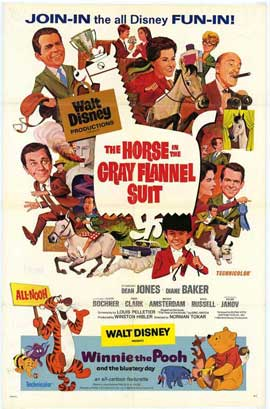 The Horse In the Grey Flannel Suit/Winnie the Pooh - 27 x 40 Movie Poster - Style A