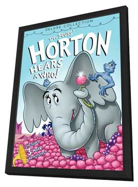 Horton Hears a Who! (TV) - 11 x 17 Movie Poster - Style A - in Deluxe Wood Frame