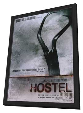 Hostel - 11 x 17 Movie Poster - Style A - in Deluxe Wood Frame