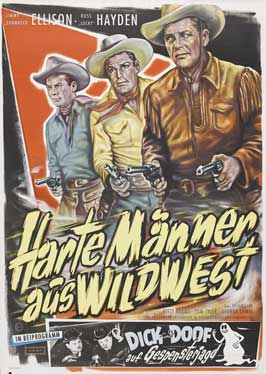 Hostile Country - 27 x 40 Movie Poster - German Style A