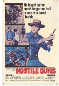 Hostile Guns - 11 x 17 Movie Poster - Style A