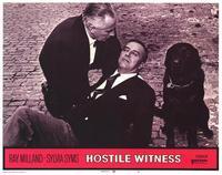 Hostile Witness - 11 x 14 Movie Poster - Style B