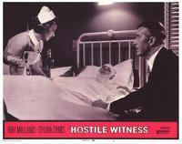 Hostile Witness - 11 x 14 Movie Poster - Style E