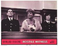 Hostile Witness - 11 x 14 Movie Poster - Style G