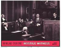 Hostile Witness - 11 x 14 Movie Poster - Style H