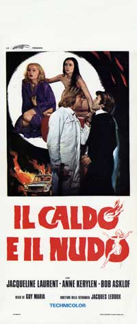 Hot and Naked - 13 x 28 Movie Poster - Italian Style A