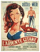 Hot Blood - 11 x 17 Movie Poster - French Style A