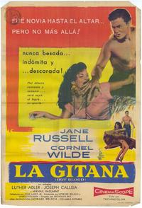 Hot Blood - 11 x 17 Movie Poster - Spanish Style A