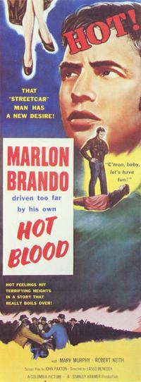 Hot Blood - 11 x 17 Movie Poster - Style B