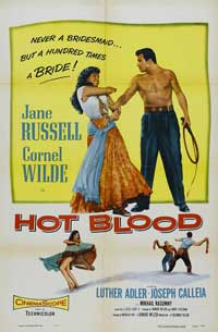 Hot Blood - 27 x 40 Movie Poster - Style D