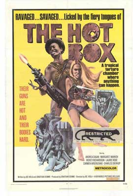 Hot Box - 27 x 40 Movie Poster - Style B