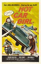 Hot Car Girl - 11 x 17 Movie Poster - Style B